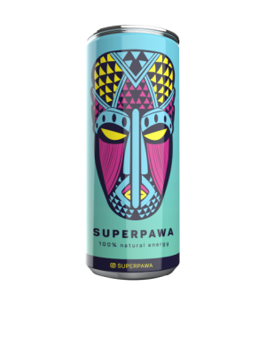 SUPERPAWA ® - Clean Energy Drink that gives You Superpawa